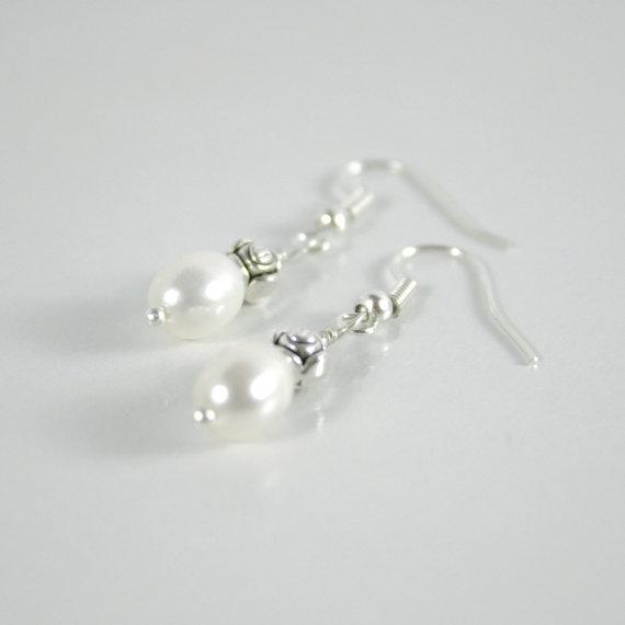 Handcrafted Freshwater Pearl Earrings